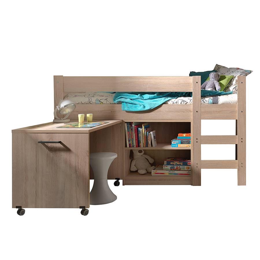 vipack hochbett f r ein modernes kinderzimmer home24. Black Bedroom Furniture Sets. Home Design Ideas