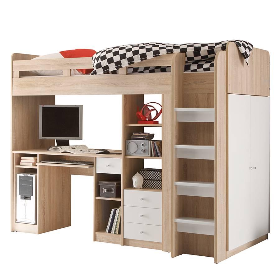 hochbett von mooved bei home24 bestellen home24. Black Bedroom Furniture Sets. Home Design Ideas