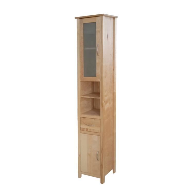 hochschrank olsen birke massiv home24. Black Bedroom Furniture Sets. Home Design Ideas