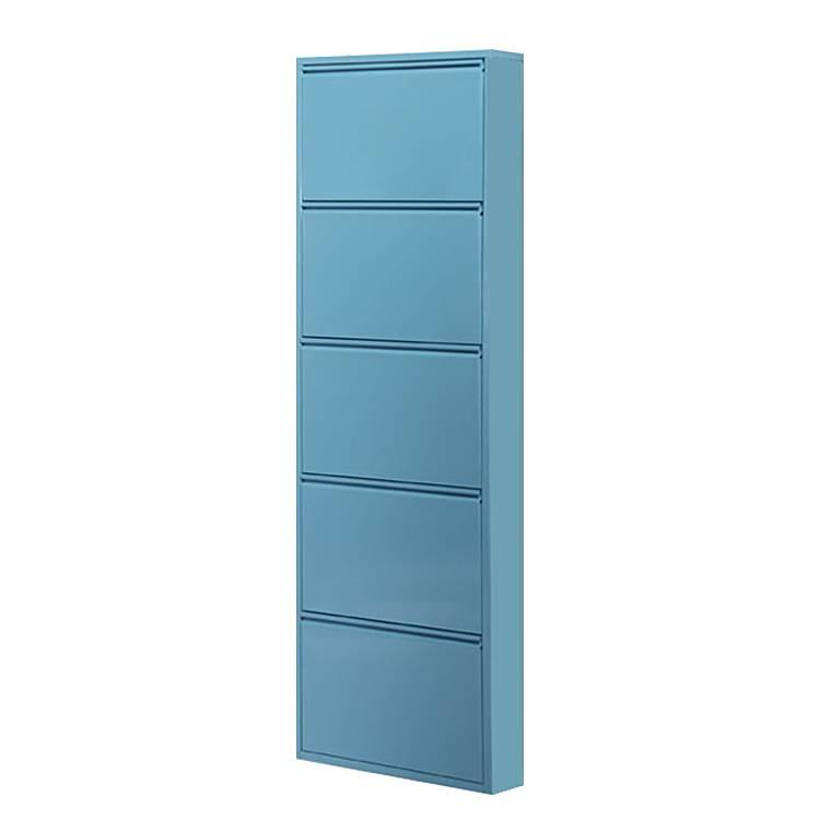 schuhschrank cabinet blau home24
