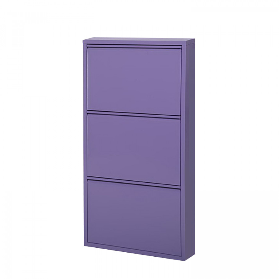Schuhschrank cabinet lila home24 for Schuhkipper metall