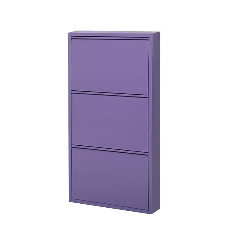 Schuhschrank cabinet lila home24 for Home24 schuhschrank