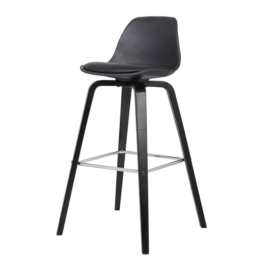 chaise de bar vallvik ii bois courb massif mati re. Black Bedroom Furniture Sets. Home Design Ideas