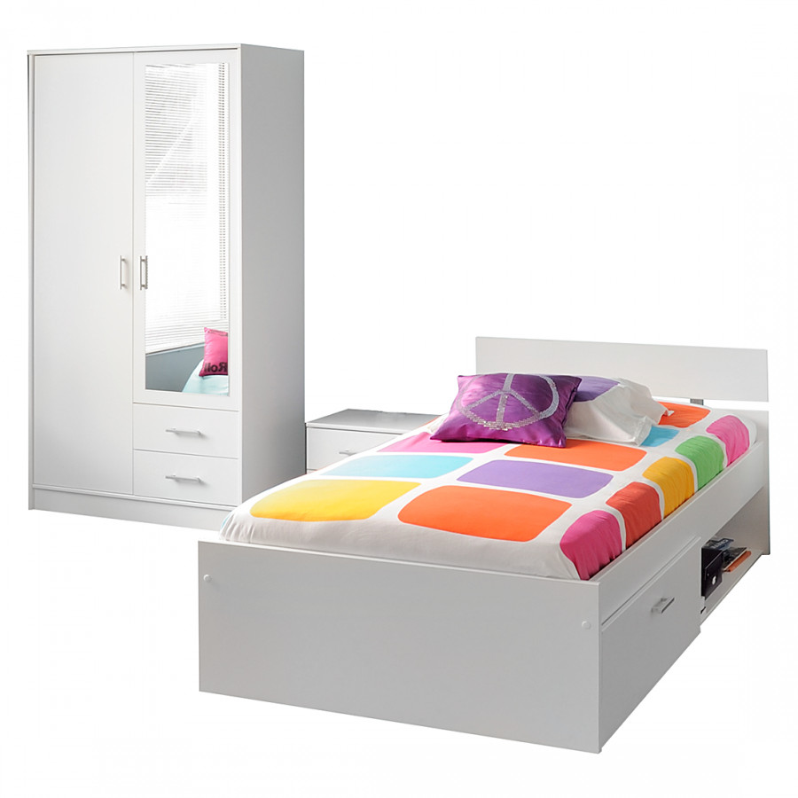 Set von parisot meubles bei home24 bestellen home24 for Meubles weiss