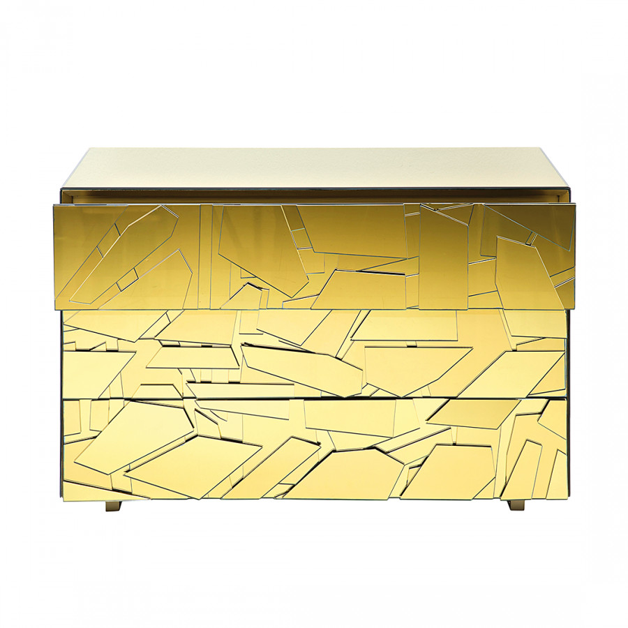 Kommode pieces gold home24 for Kommode yoga iv