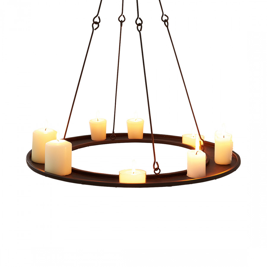 kerzentablett zum h ngen metall braun home24. Black Bedroom Furniture Sets. Home Design Ideas