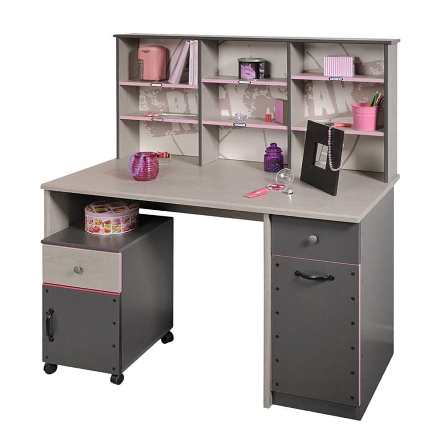 young furn kinder jugendschreibtisch f r ein modernes kinderzimmer home24. Black Bedroom Furniture Sets. Home Design Ideas