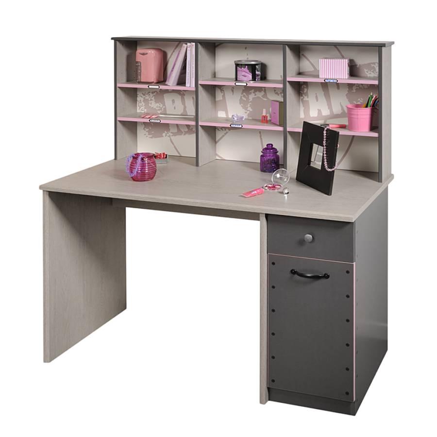 jetzt bei home24 kinder jugendschreibtisch von young furn home24. Black Bedroom Furniture Sets. Home Design Ideas