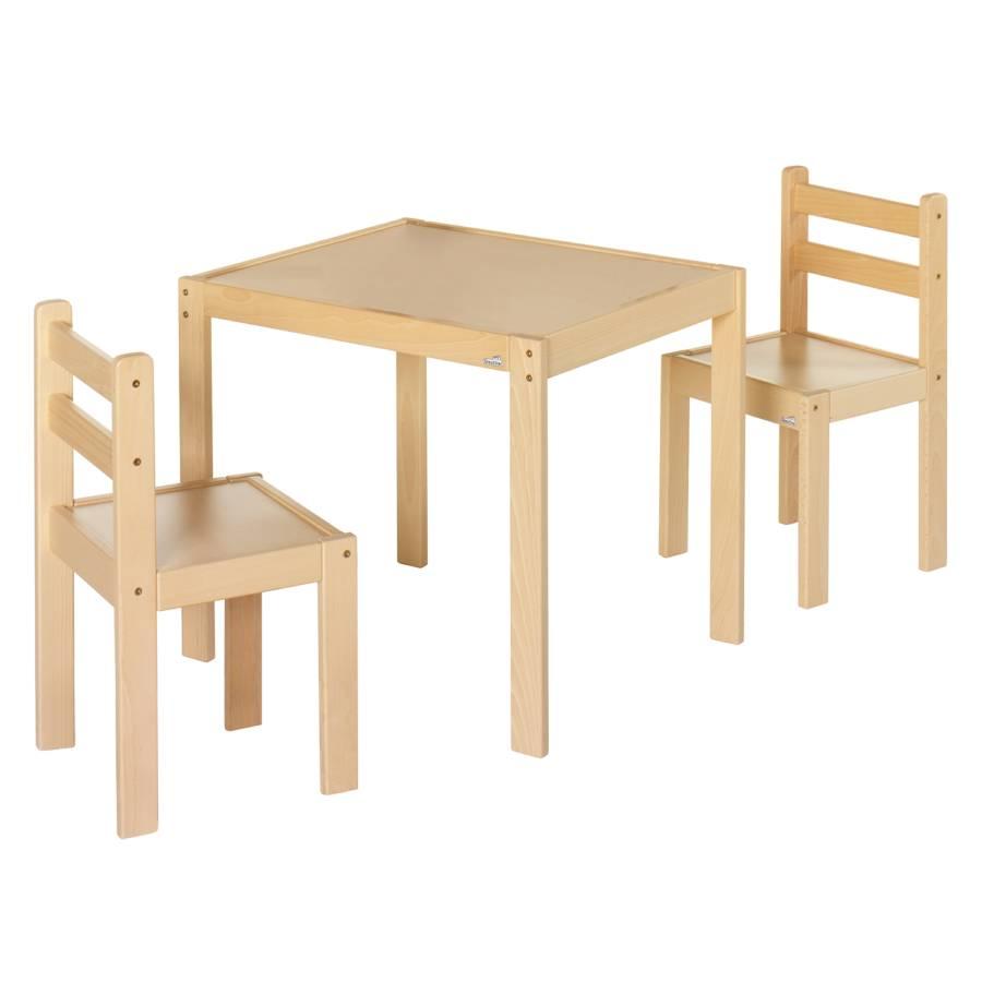 Ensemble de table et chaises pour enfants kalle for Table et chaises pour enfants