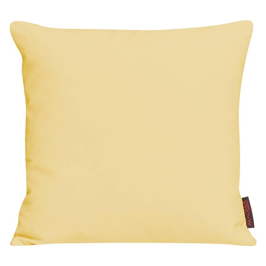 Housse de coussin paso jaune - Housse coussin jaune ...