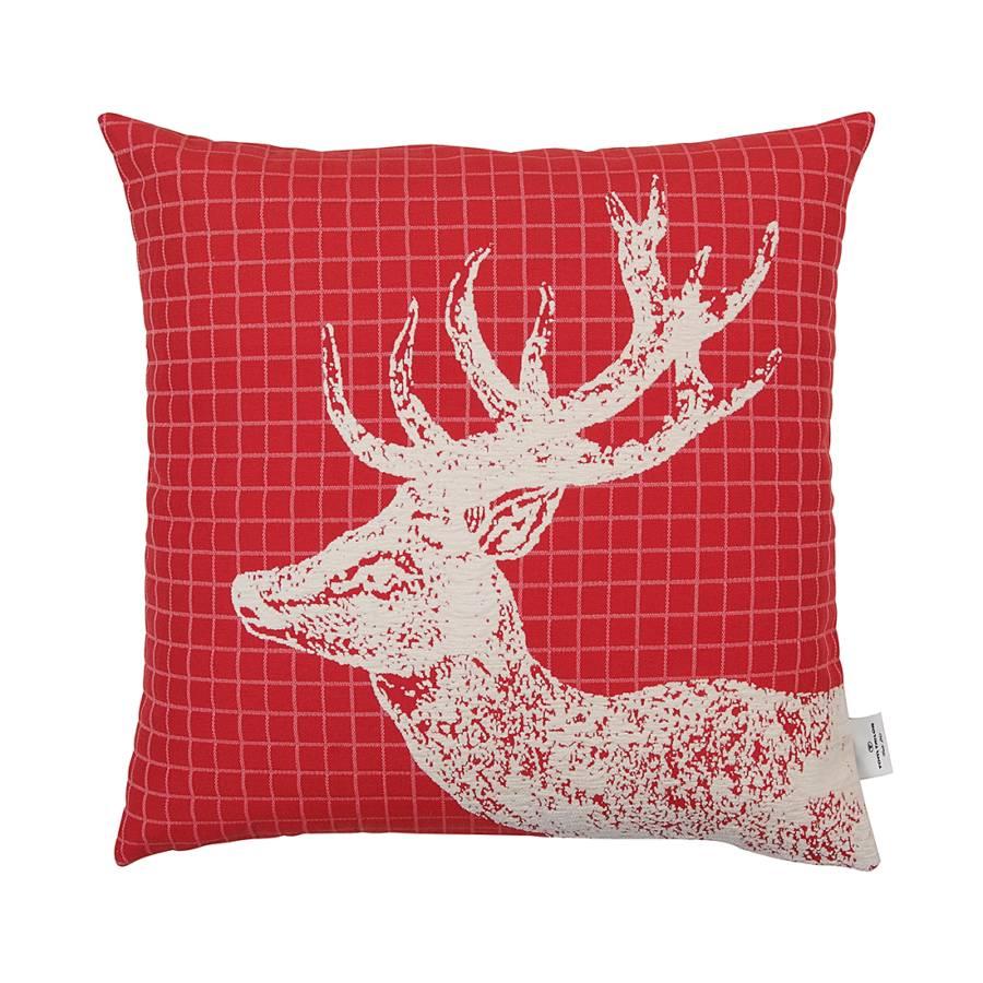 kissenh lle t deer 50x50 cm rot home24. Black Bedroom Furniture Sets. Home Design Ideas
