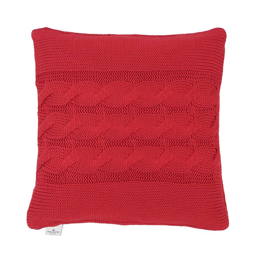 kissenh lle t plait 50x50 cm rot home24. Black Bedroom Furniture Sets. Home Design Ideas