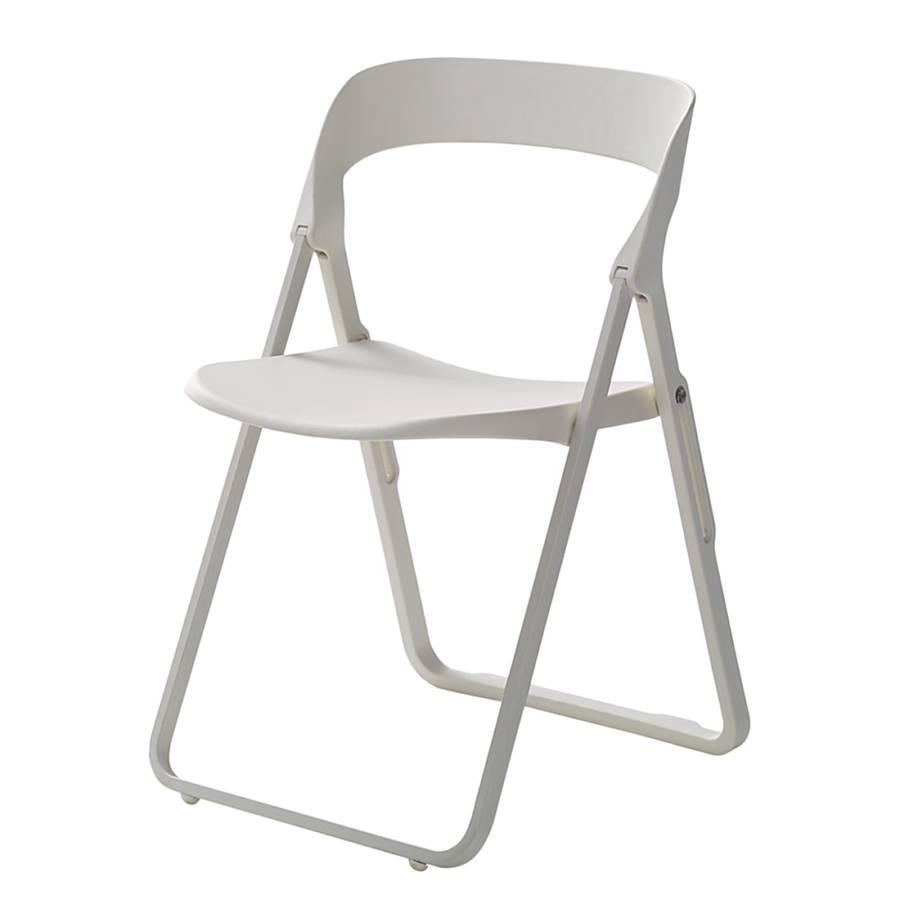 klappstuhl bek 2er set kunststoff metall home24. Black Bedroom Furniture Sets. Home Design Ideas