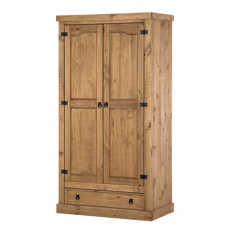 armoire v tements finca rustica volts pin massif. Black Bedroom Furniture Sets. Home Design Ideas