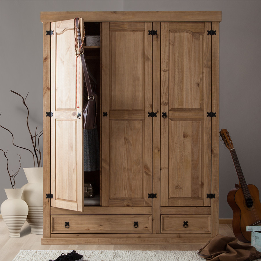 kleiderschrank von landhaus classic bei home24 bestellen home24. Black Bedroom Furniture Sets. Home Design Ideas