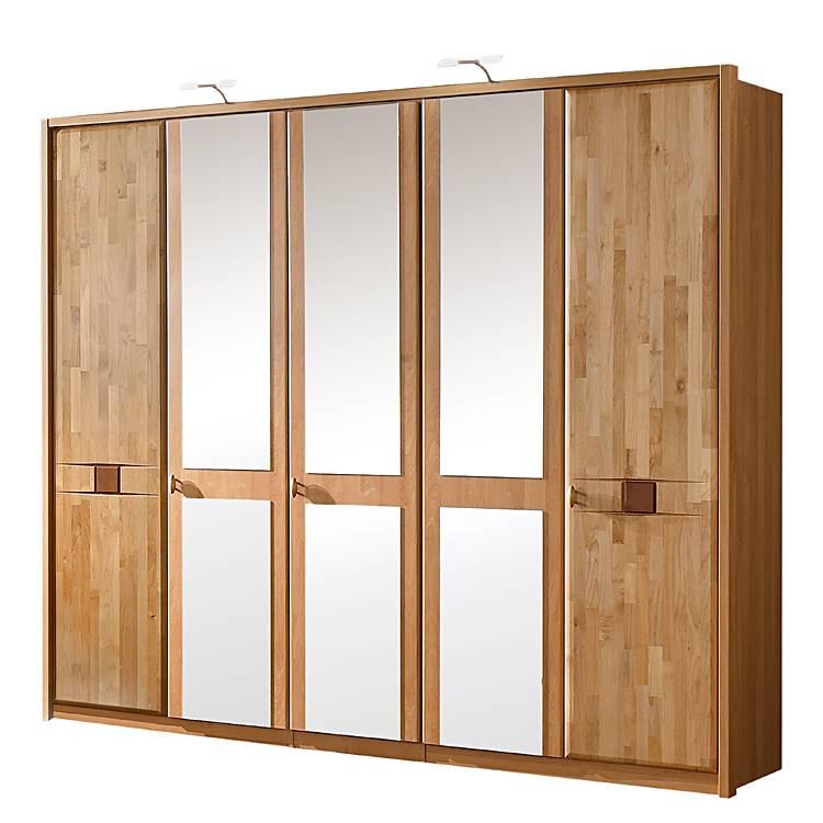 kleiderschrank venus erle teilmassiv home24. Black Bedroom Furniture Sets. Home Design Ideas