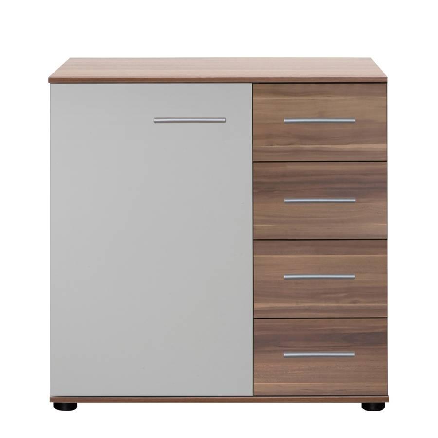 kombikommode nora franz sisch nussbaum alpinwei home24. Black Bedroom Furniture Sets. Home Design Ideas