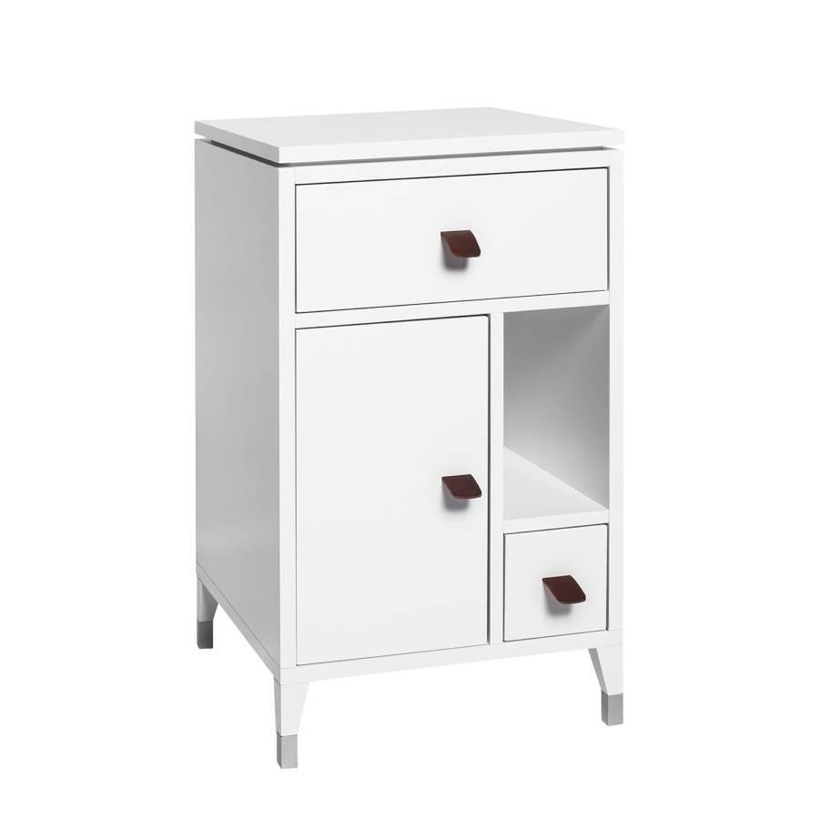 kommode abisko i birke teilmassiv wei home24. Black Bedroom Furniture Sets. Home Design Ideas
