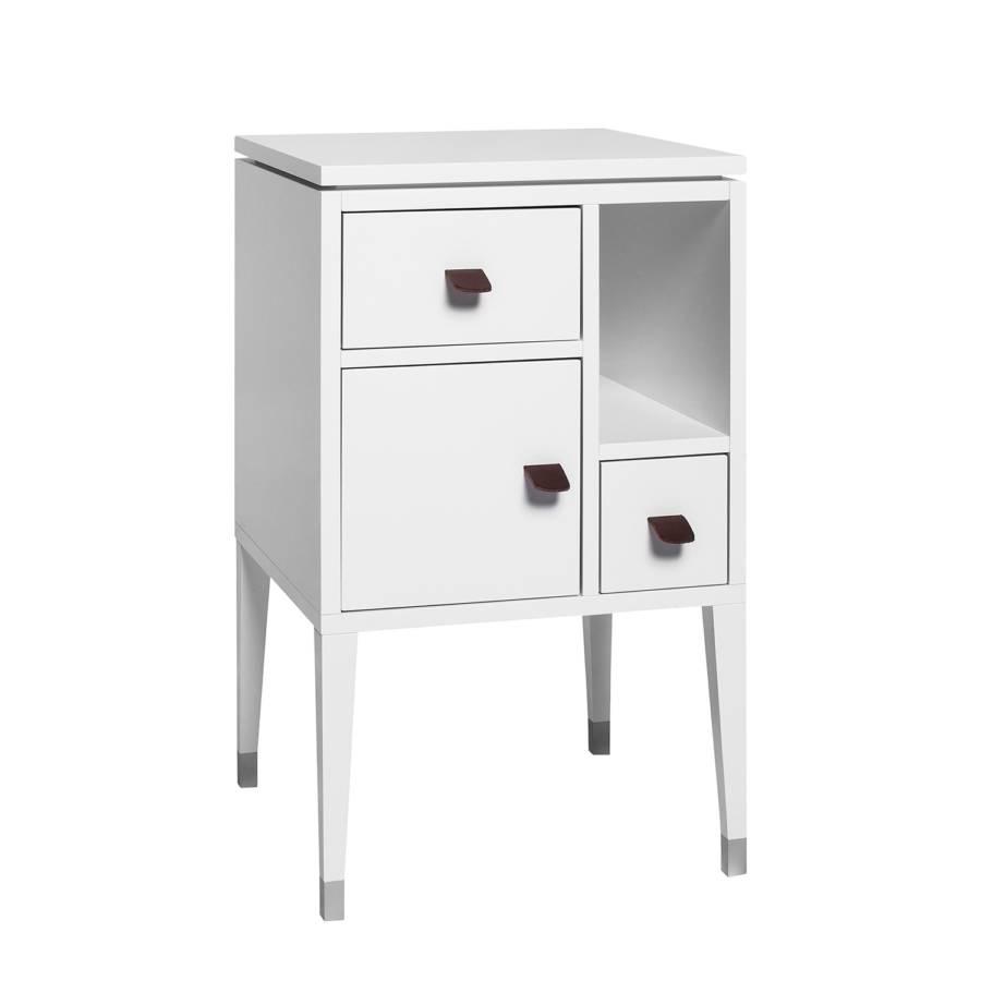 kommode abisko ii birke teilmassiv wei home24. Black Bedroom Furniture Sets. Home Design Ideas