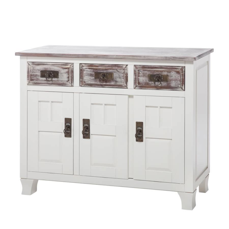 kommode la jarrie iv wei fichte home24. Black Bedroom Furniture Sets. Home Design Ideas