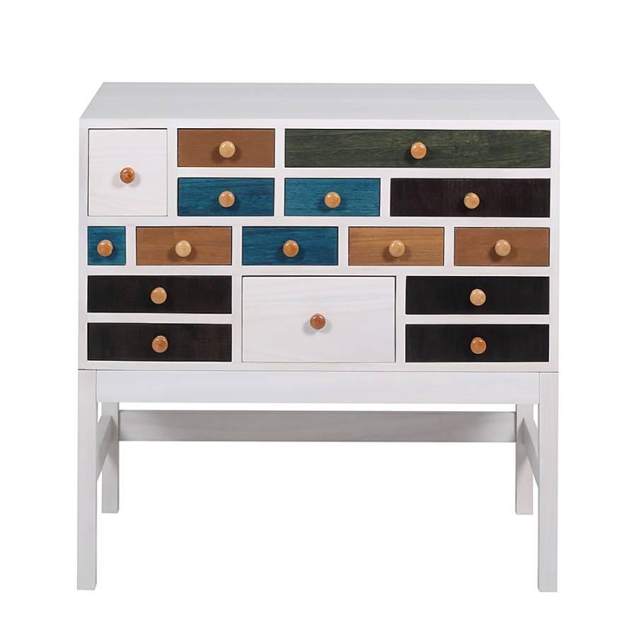 kommode holly 2 16 schubladen home24. Black Bedroom Furniture Sets. Home Design Ideas