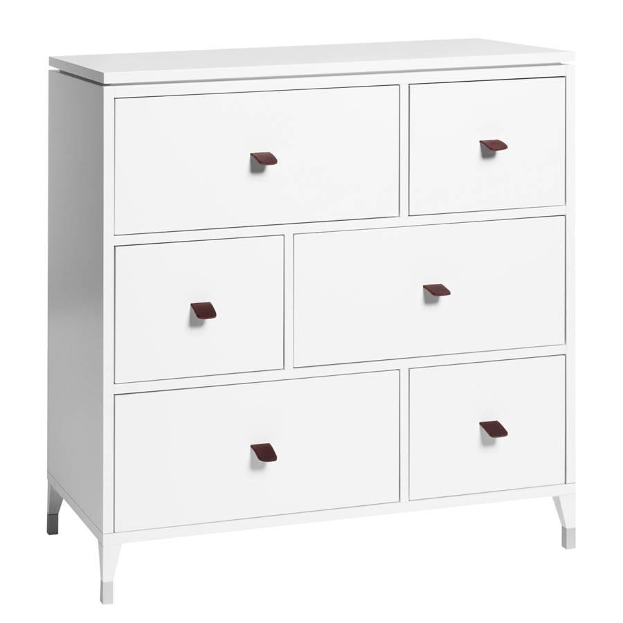 kommode abisko iv birke teilmassiv wei home24. Black Bedroom Furniture Sets. Home Design Ideas