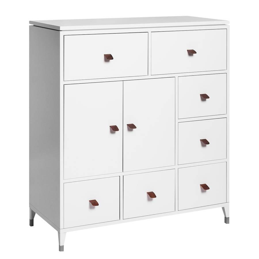 kommode abisko v birke teilmassiv wei home24. Black Bedroom Furniture Sets. Home Design Ideas