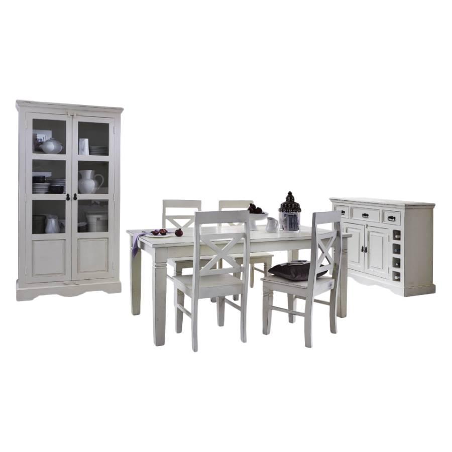 komplett esszimmer f rstenau 7 teilig mangobaum massiv. Black Bedroom Furniture Sets. Home Design Ideas