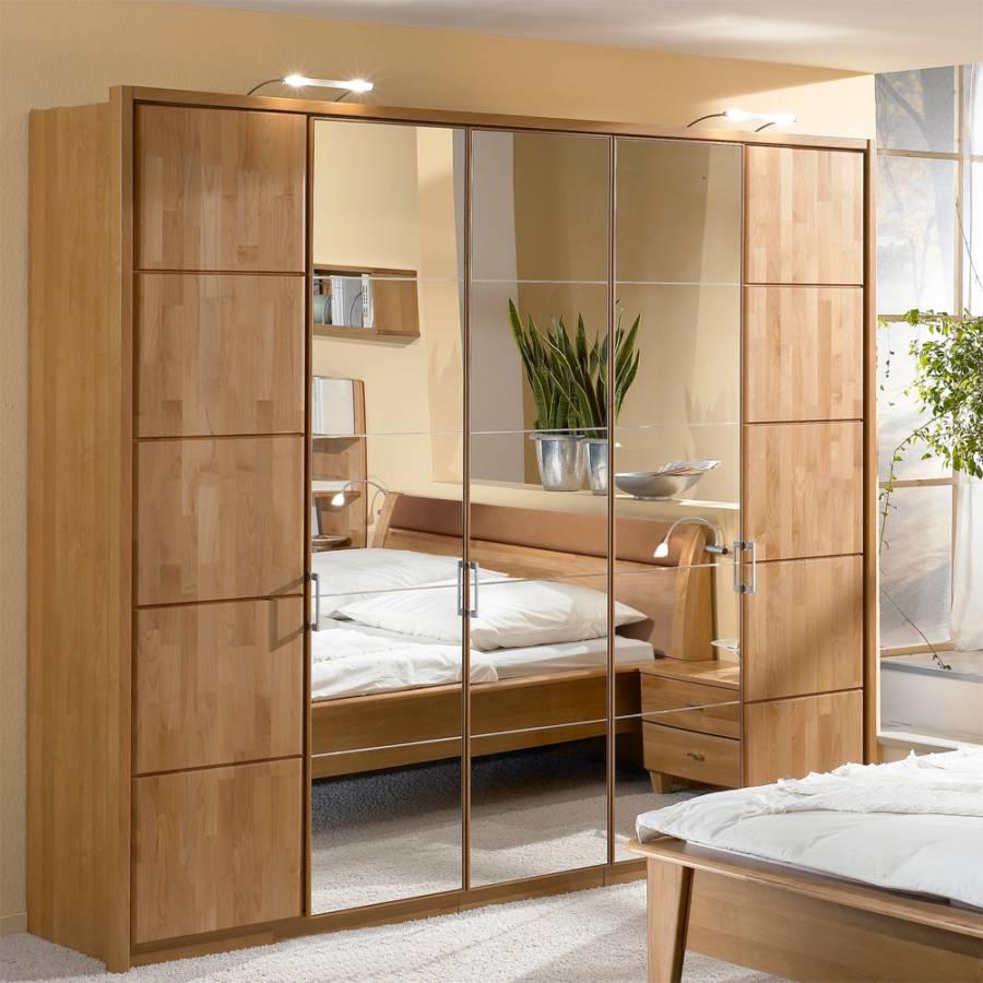 komplett schlafzimmer marco 4 teilig erle teilmassiv home24. Black Bedroom Furniture Sets. Home Design Ideas