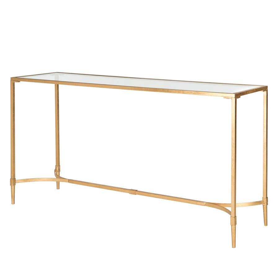 konsolentisch antwan eisen glas home24. Black Bedroom Furniture Sets. Home Design Ideas