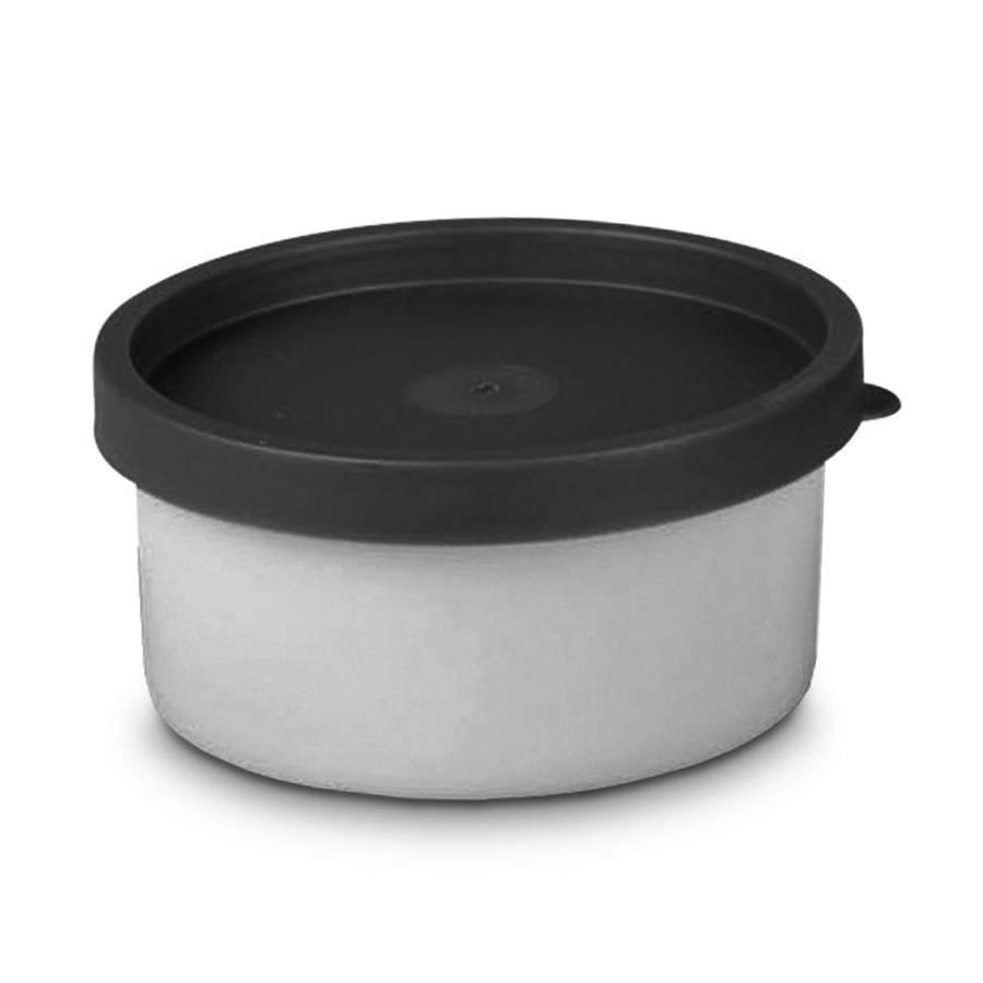 Vorratsbehälter Kunststoff kräuterdose rund kunststoff polyethylen weiß grau home24