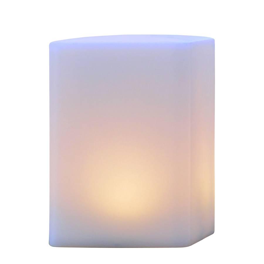 Luminaire d 39 ext rieur led cube t l commande fournie for Luminaire exterieur cube