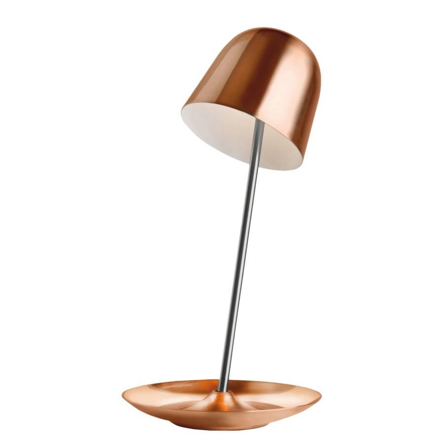 led tischleuchte pirol metall kupfer. Black Bedroom Furniture Sets. Home Design Ideas
