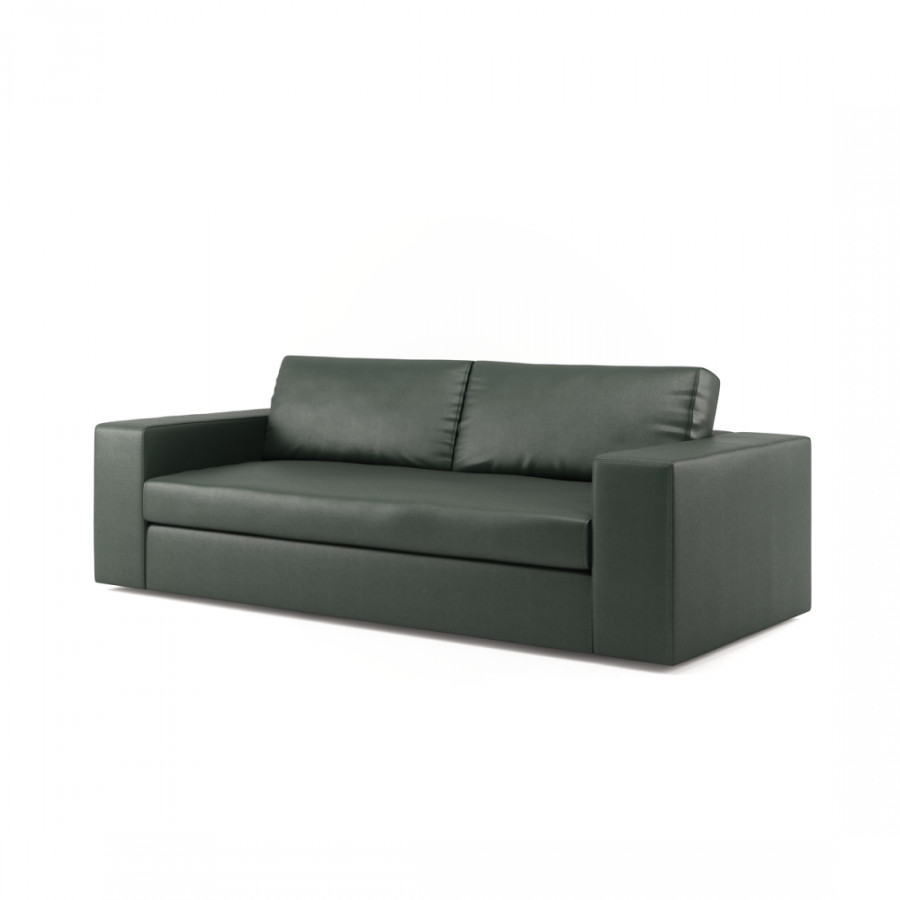ledersofa girolamo 3 sitzer home24. Black Bedroom Furniture Sets. Home Design Ideas