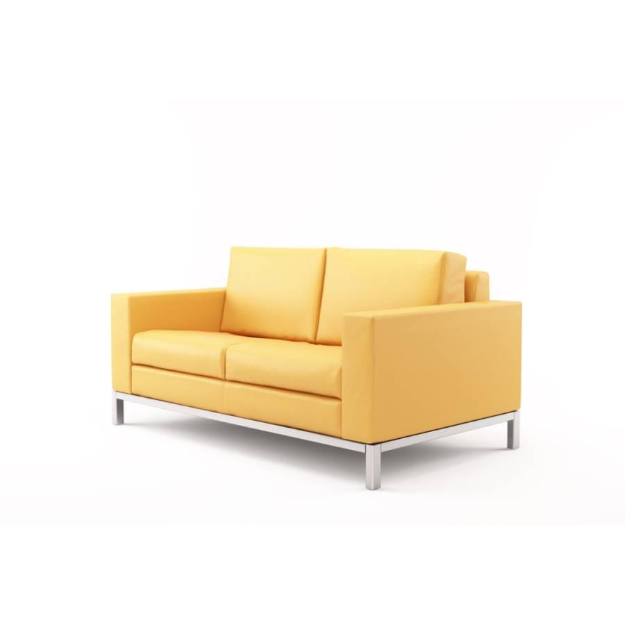 ledersofa paglia 2 sitzer home24. Black Bedroom Furniture Sets. Home Design Ideas