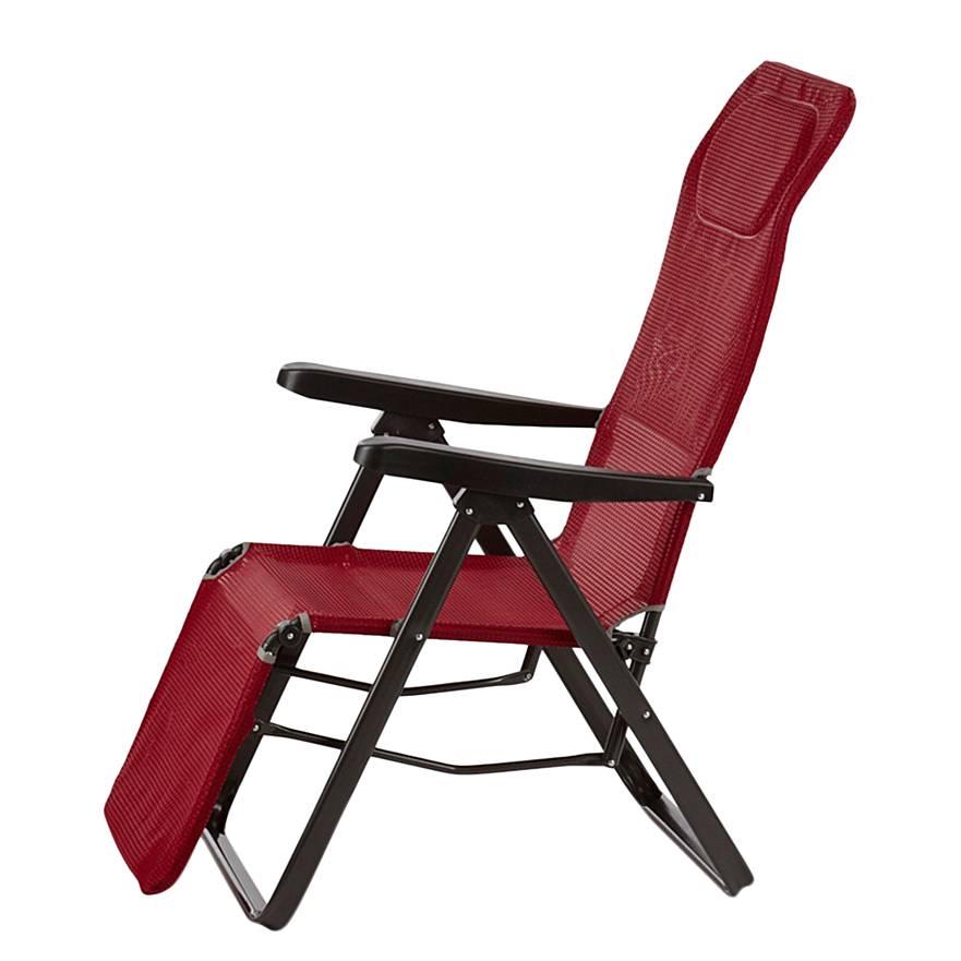 liegestuhl lugano stahl ergotex home24. Black Bedroom Furniture Sets. Home Design Ideas
