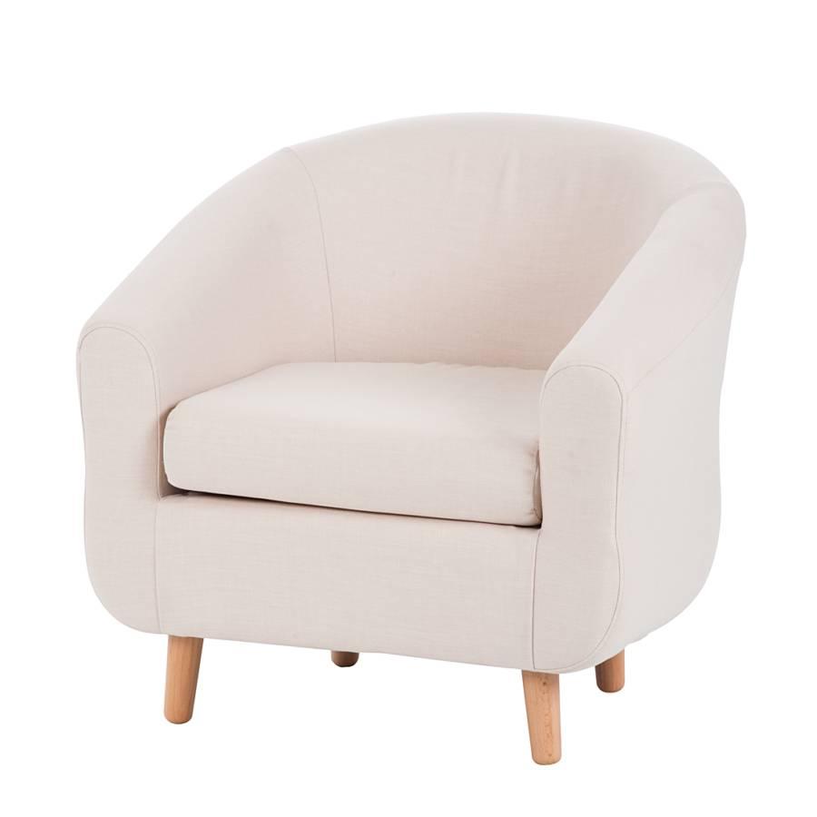 fauteuil little weefstof beige. Black Bedroom Furniture Sets. Home Design Ideas
