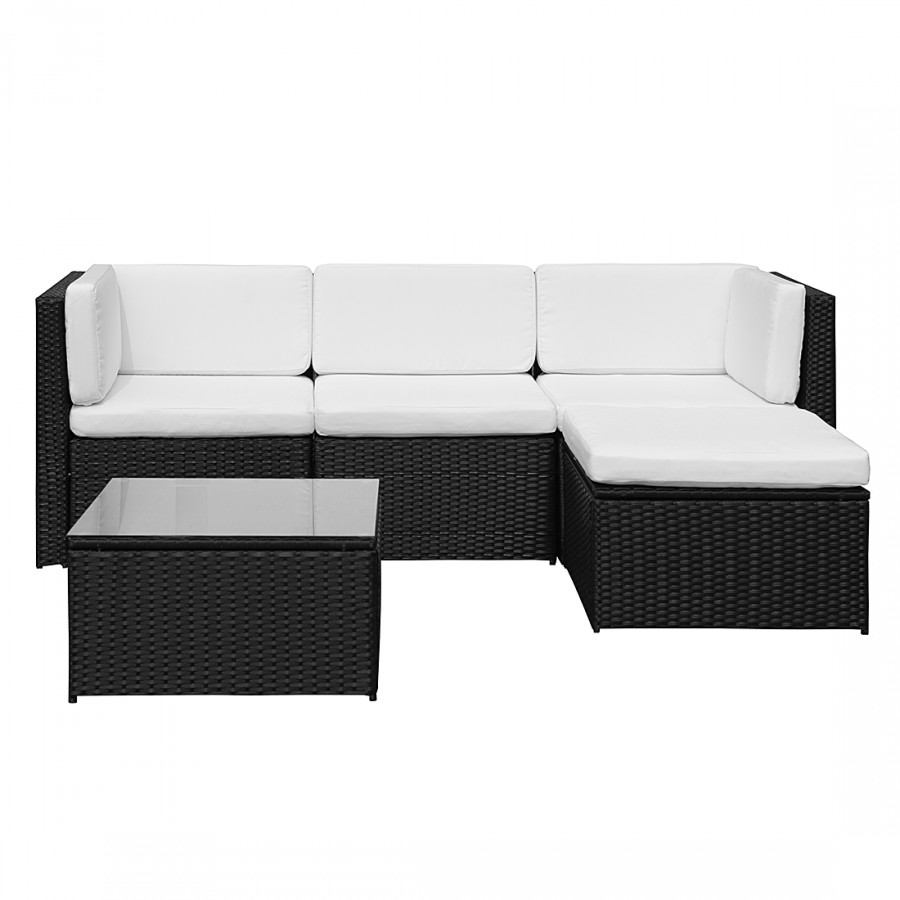 loungegruppe 13 teilig polyrattan home24. Black Bedroom Furniture Sets. Home Design Ideas