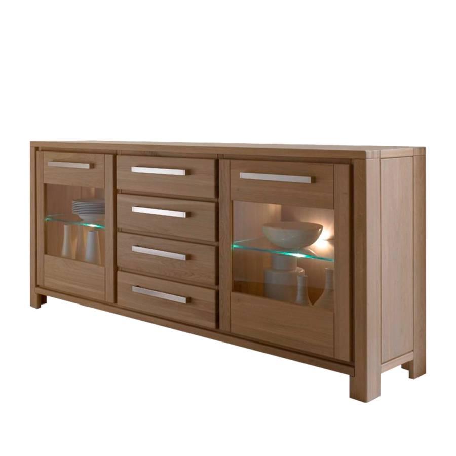 sideboard mandy mit beleuchtung home24. Black Bedroom Furniture Sets. Home Design Ideas