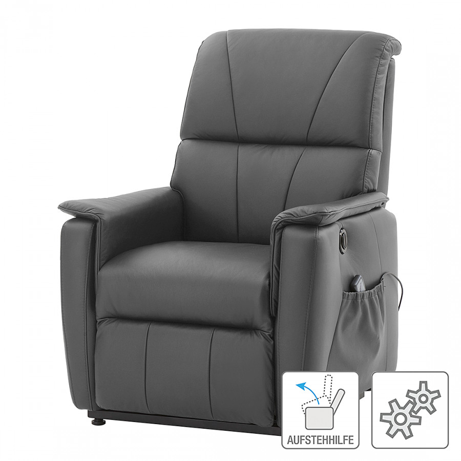 fauteuil de massage clifford avec dispositif d 39 aide pour se lever microfibre. Black Bedroom Furniture Sets. Home Design Ideas