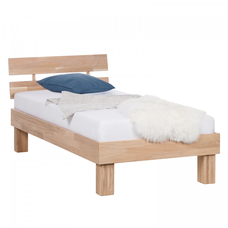 Massief houten bed richwood - Massief houten platform bed ...