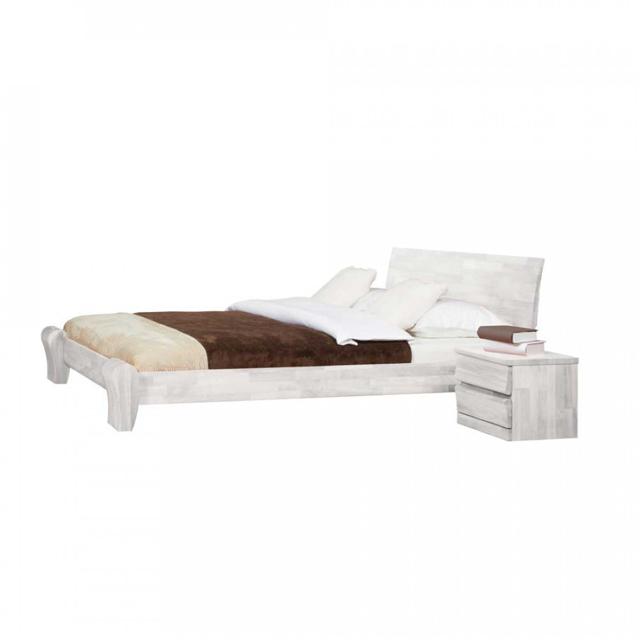 massivholzbett kyara buche home24. Black Bedroom Furniture Sets. Home Design Ideas