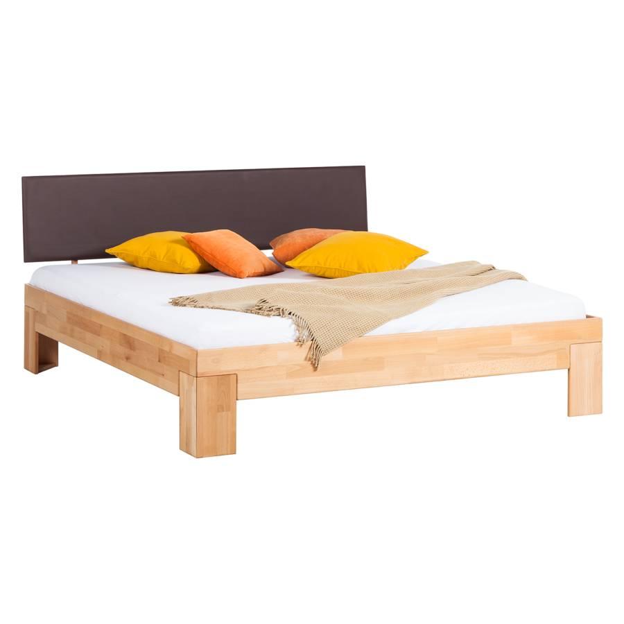 Massief houten bed mapuawood - Houten bed ...