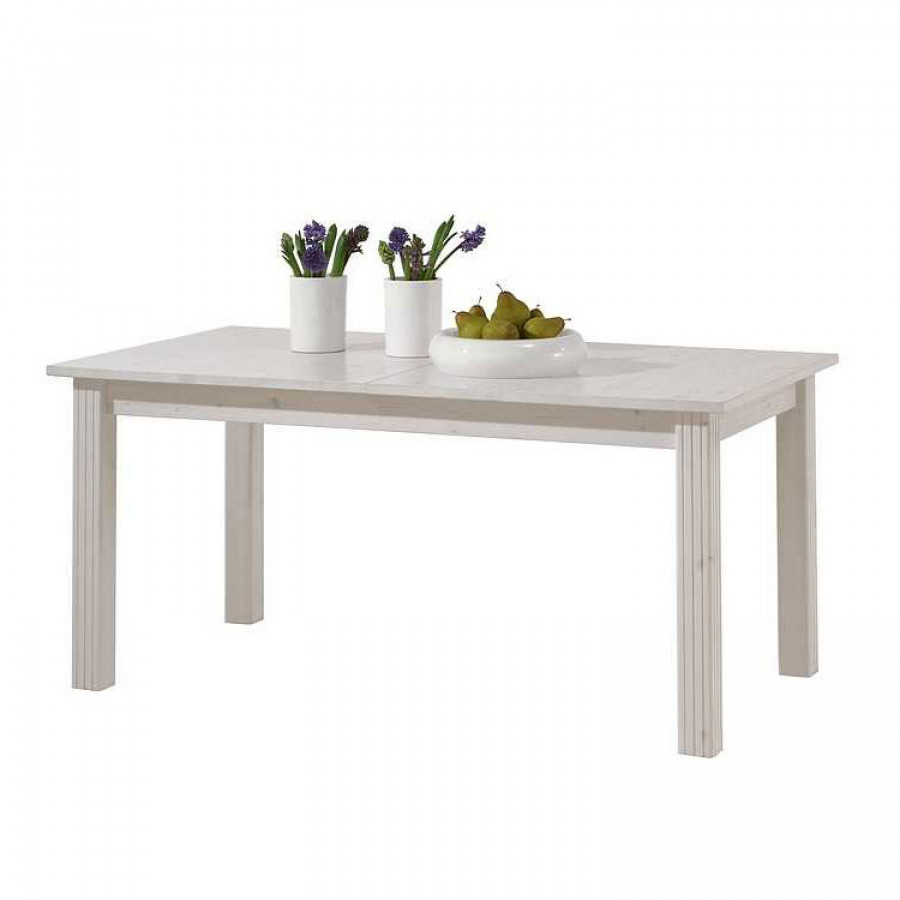 Table de salle manger lyngby extensible pin massif for Salle a manger pin massif