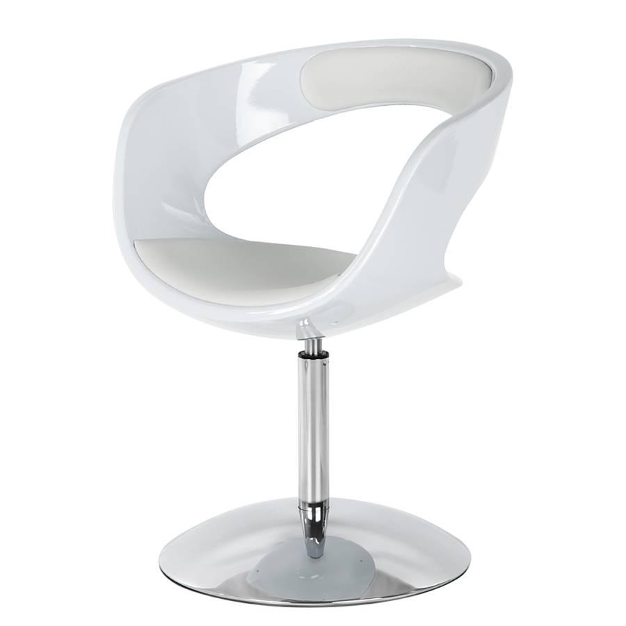 drehsessel merida kunststoff kunstleder wei home24. Black Bedroom Furniture Sets. Home Design Ideas