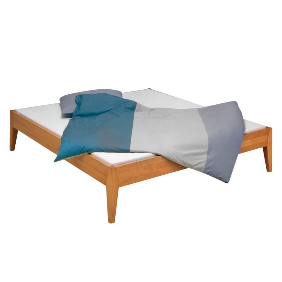 bett varia buche massiv. Black Bedroom Furniture Sets. Home Design Ideas