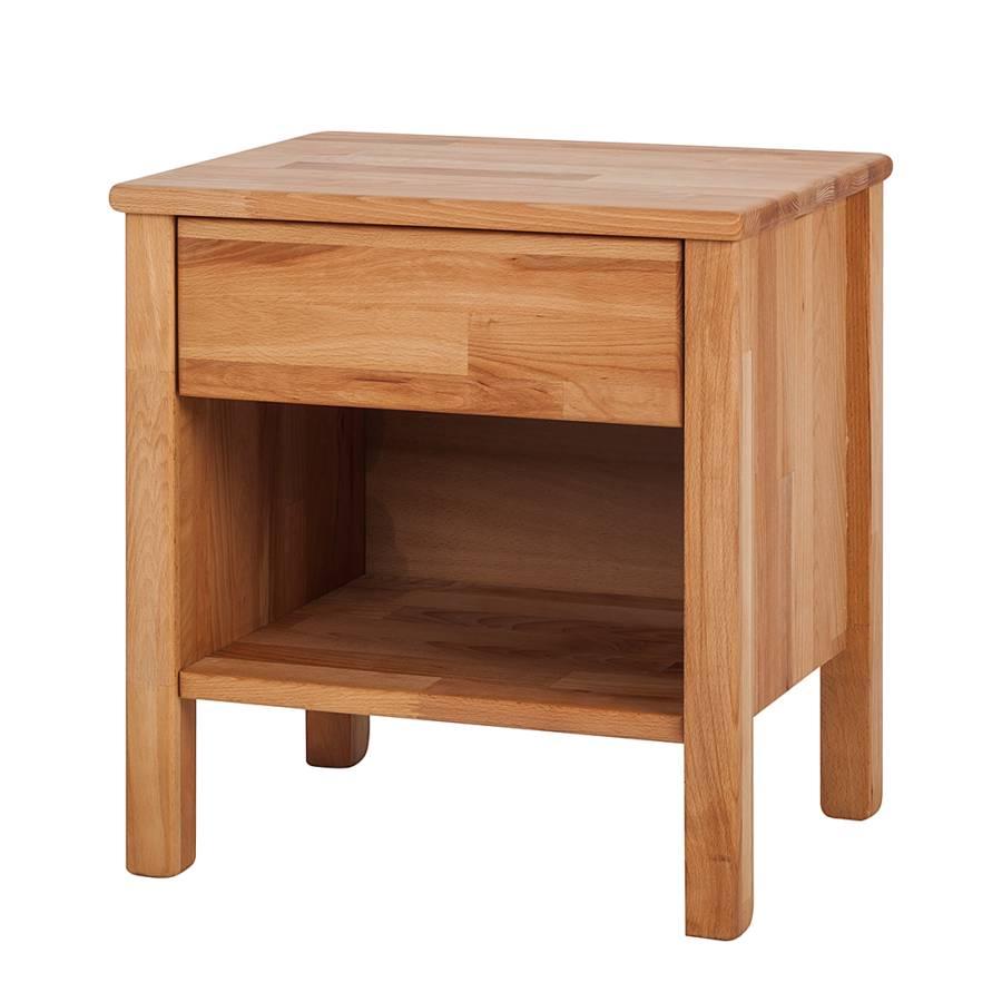 nachtkommode layawood kernbuche massiv home24. Black Bedroom Furniture Sets. Home Design Ideas