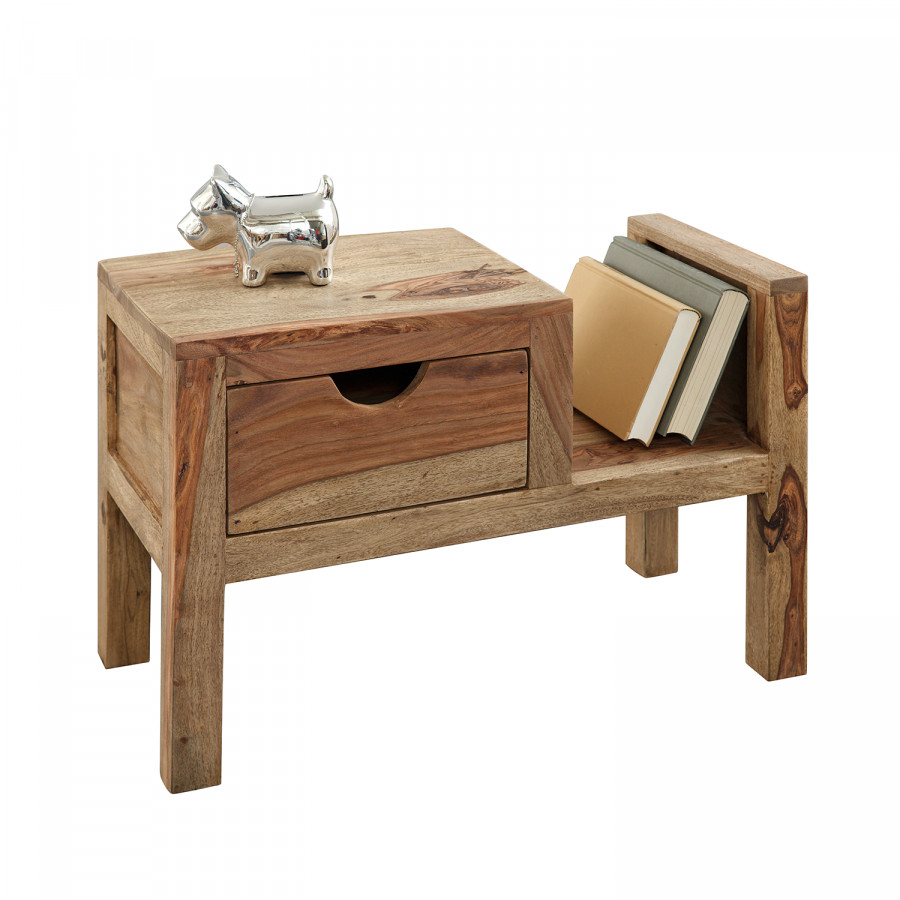 wolf m bel nachtkastje voor een rustieke woning. Black Bedroom Furniture Sets. Home Design Ideas
