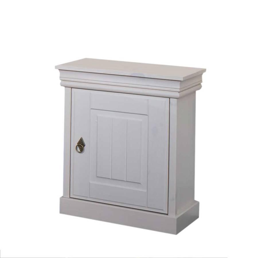 nachtschrank adrerra wei home24. Black Bedroom Furniture Sets. Home Design Ideas