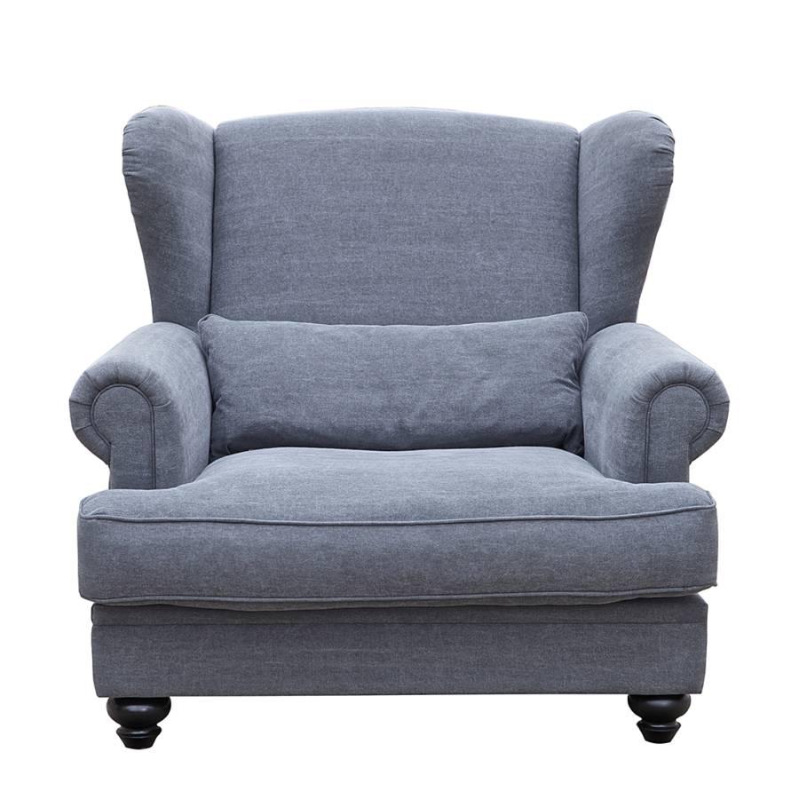fauteuil oreilles fauteuil tissu en coton. Black Bedroom Furniture Sets. Home Design Ideas